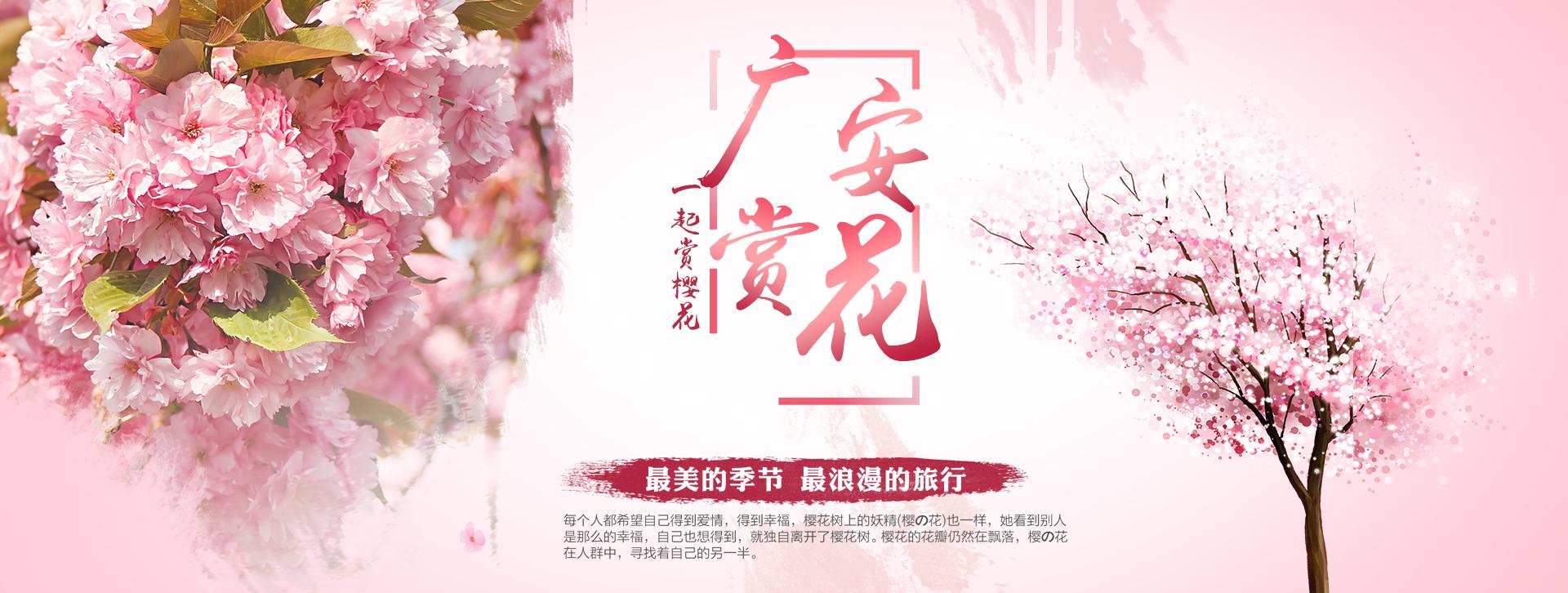 广安观光赏花